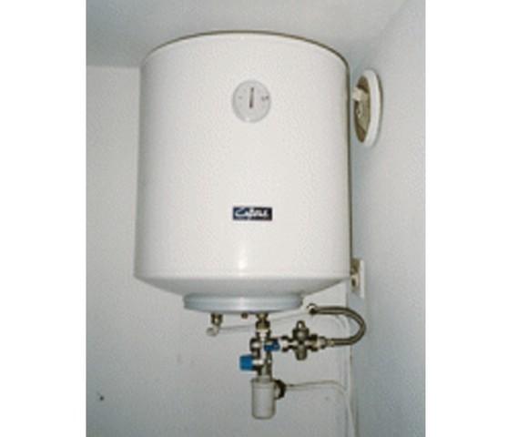 Chauffe eau lectrique vertical 100 litres pour 4 personnes - Chauffe eau 100 litres ...