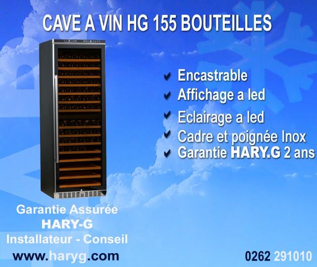 cave a vin 155 bouteilles hg. Black Bedroom Furniture Sets. Home Design Ideas