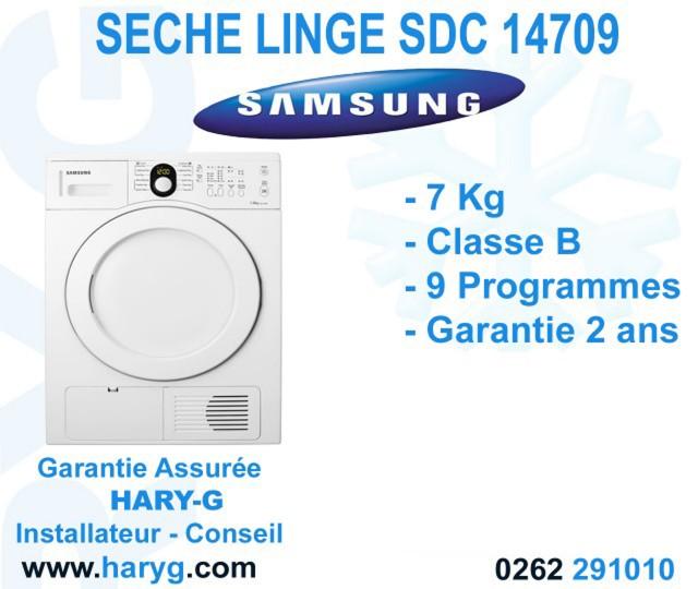 seche linge a condensation samsung sdc14709